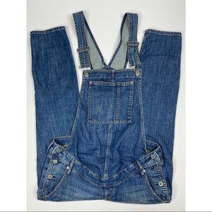 H&M MAMA Denim Bib Overalls Size 8